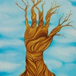 Mano poderosa del arbol de la vida / Powerful hand of the tree of life