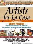 Artists for La Casa